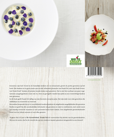 De groentekok : de evenwichtige keuken : eenvoudige recepten met groenten & fruit in de hoofdrol