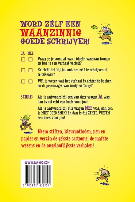 Hoe schrijf ik zelf een waanzinnig boek? : waanzinnige tips en doldwaze opdrachten, maak plezier met letters en woo...