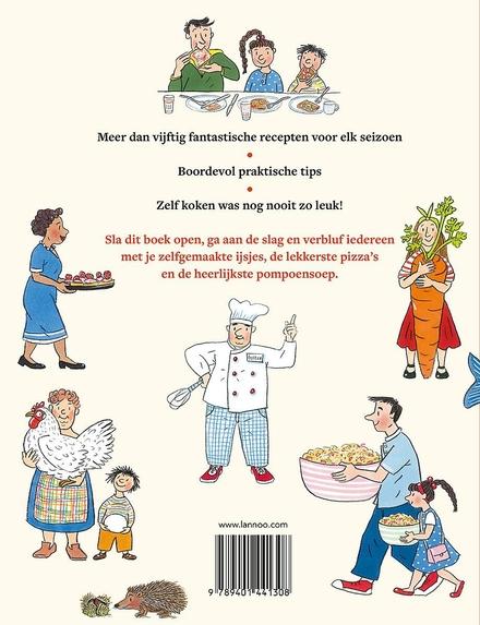 Het grote kinderkookboek voor alle seizoenen