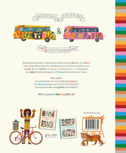 Het mooiste boek van alle kleuren : encyclopedia Otto-colorista