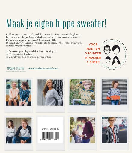 I love sweaters : 15 hippe sweaters om zelf te naaien