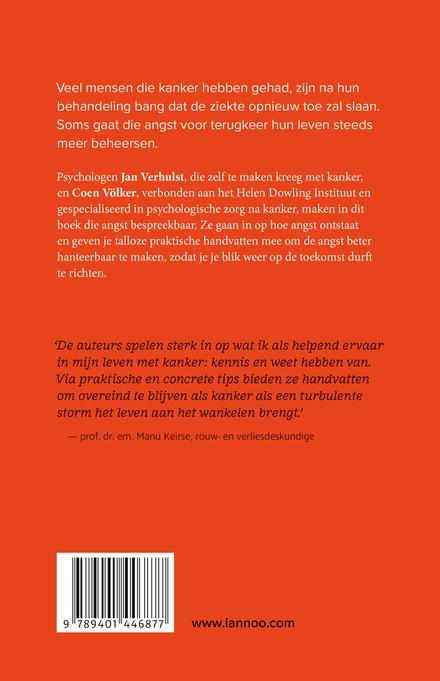 Angst na kanker : wat als je bang bent opnieuw ziek te worden