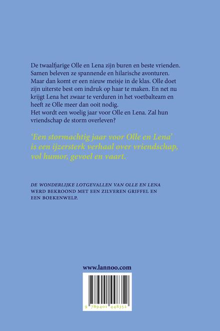 Een stormachtig jaar voor Olle en Lena