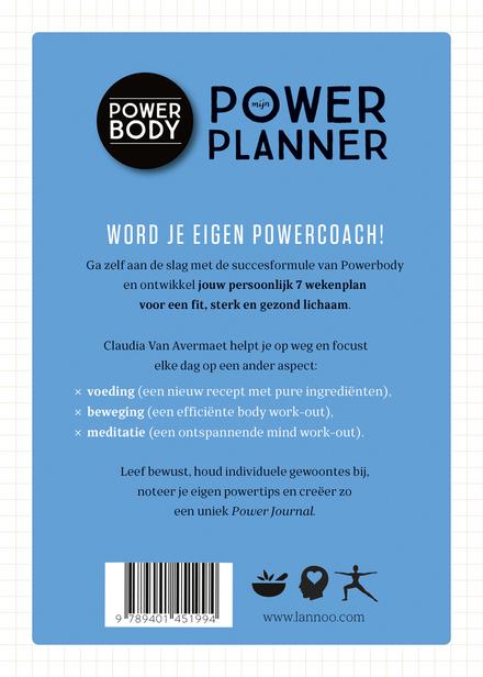 Mijn powerplanner : 7 weken journal voor food, mind & body