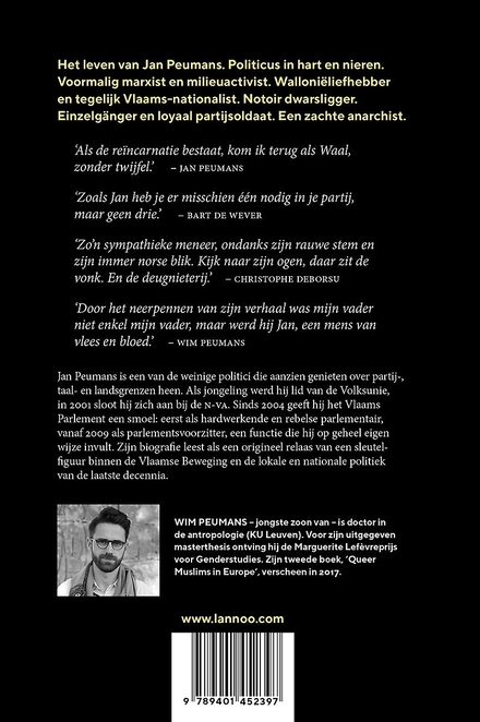 Jan Peumans : een zachte anarchist