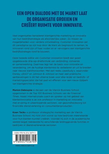 Customer innovation : waarom de klant centraal staat in bedrijfsinnovatie