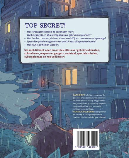 Spionage : van geheime codetaal tot vergiftigde tandpasta