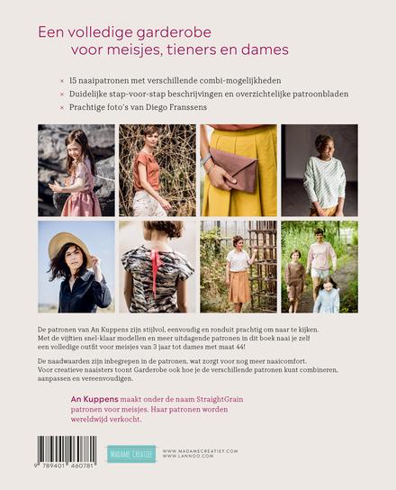 Garderobe : 15 naaipatronen voor meisjes, tieners en dames