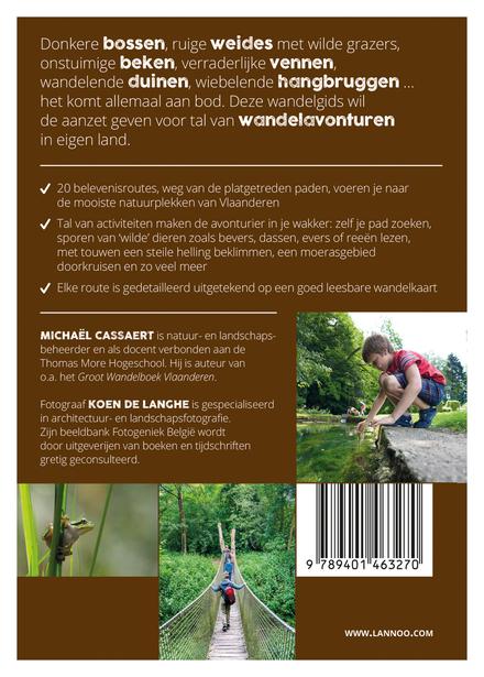 Avontuurlijk wandelen in Vlaanderen : 20 tochten voor grote en kleine avonturiers dicht bij huis