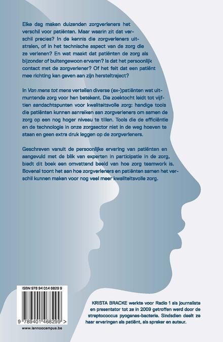 Van mens tot mens : hoe patiënten zorgverleners kunnen inspireren