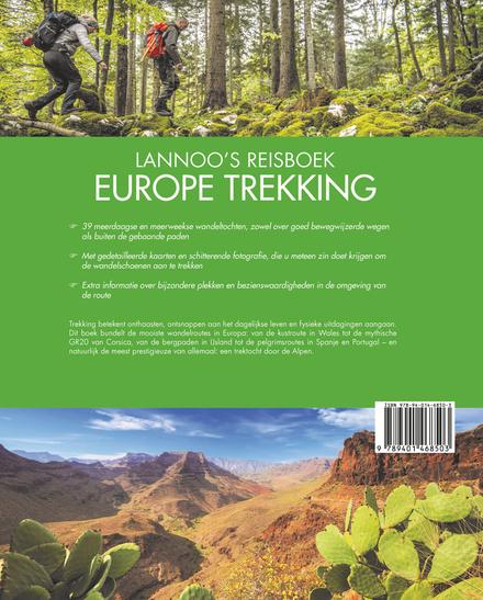 Lannoo's Reisboek Europe Trekking : spectaculaire wandelroutes in fascinerende landschappen