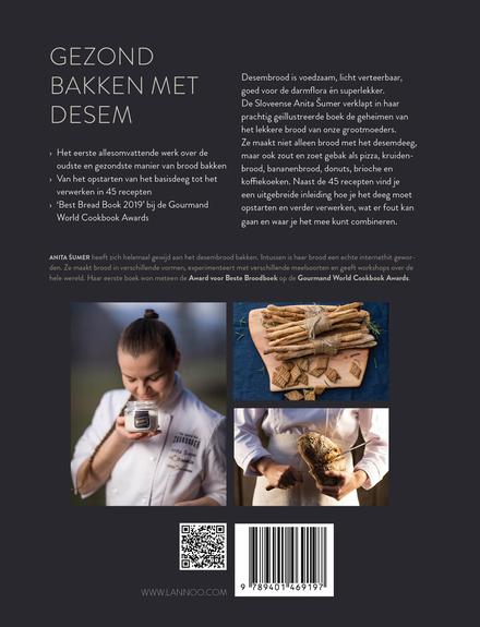 Passie voor desem : recepten voor heerlijk gezond brood en gebak