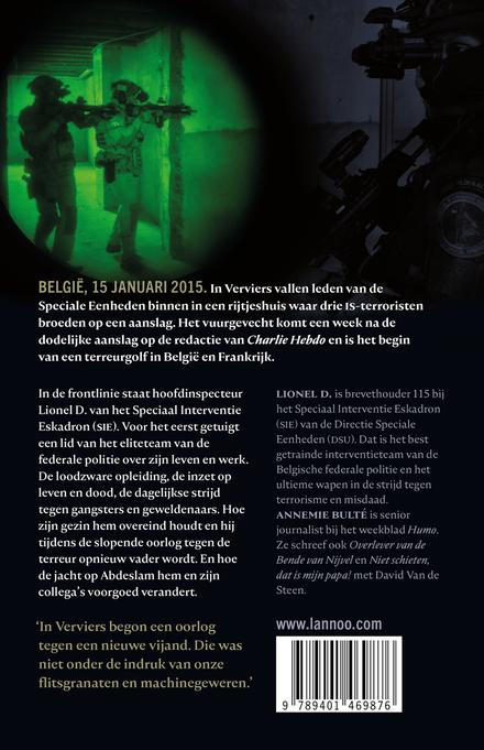 Terroristenjager : in het hart van de Speciale Eenheden