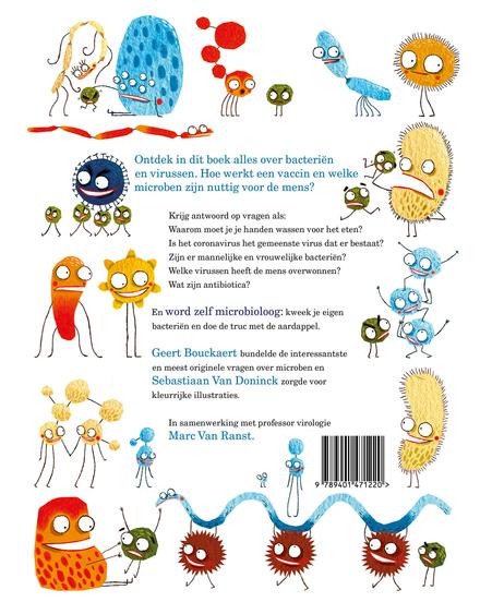 Monsterlijke microben : alles over nuttige bacteriën en gemene virussen