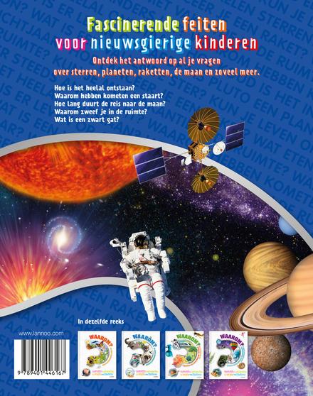 Waarom? De grote encyclopedie van de ruimte : duidelijke antwoorden op vragen van kinderen