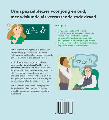 De dikke Pythagoras : meer dan 600 wiskundige puzzels, spellen en doordenkers voor jong en oud
