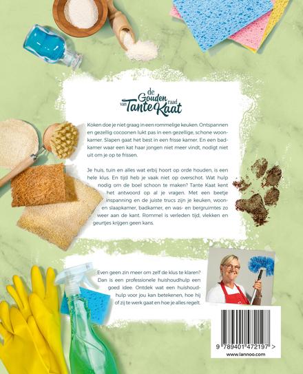 De gouden raad van Tante Kaat : 300 pagina's smetvrije en ecologische schoonmaaktips