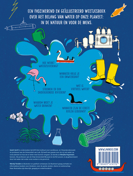 Het grote waterboek : van zwetende planten tot verwoestende tsunami's