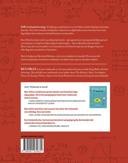 Wat een hond ons over wiskunde kan leren : en 27 andere wonderlijke verhalen over limieten, differentialen en integ...