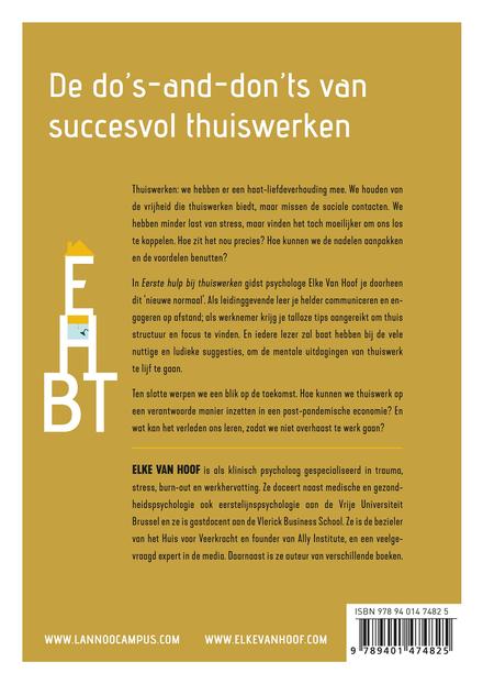 EHBT : eerste hulp bij thuiswerken : een praktische gids voor werkgever en -nemer