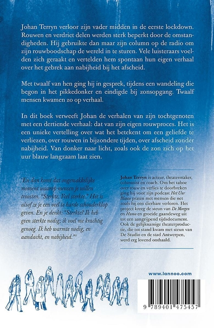 Het uur blauw : afscheid zonder nabijheid