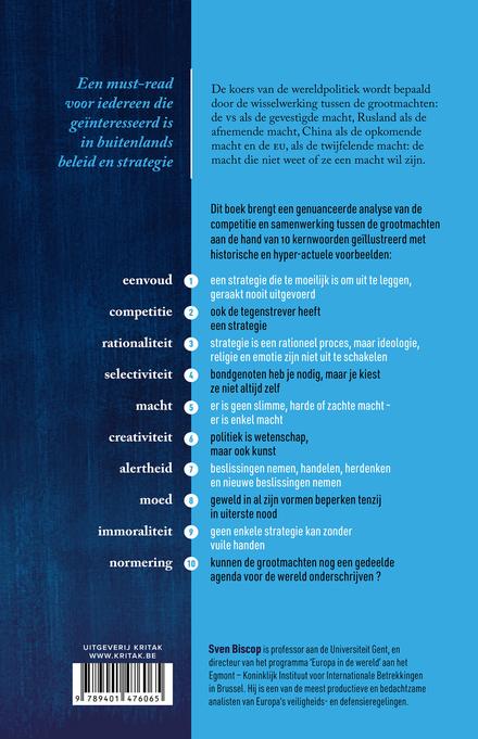 Hoe de grootmachten de koers van de wereldpolitiek bepalen : grand strategy in 10 kernwoorden