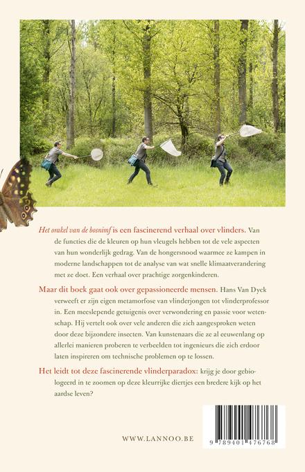 Het orakel van de bosnimf : van vlinders en mensen