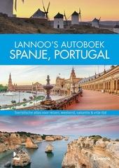 Lannoo's autoboek Spanje, Portugal : toeristische atlas voor reizen, weekend, vakantie & vrije tijd