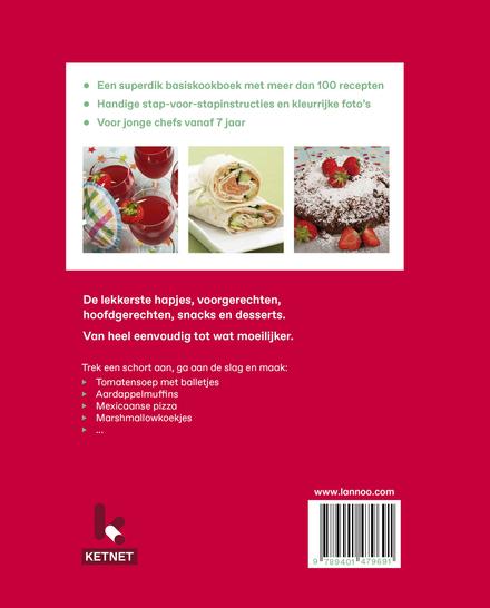 Het complete Ketnet kookboek : van hapje tot dessert