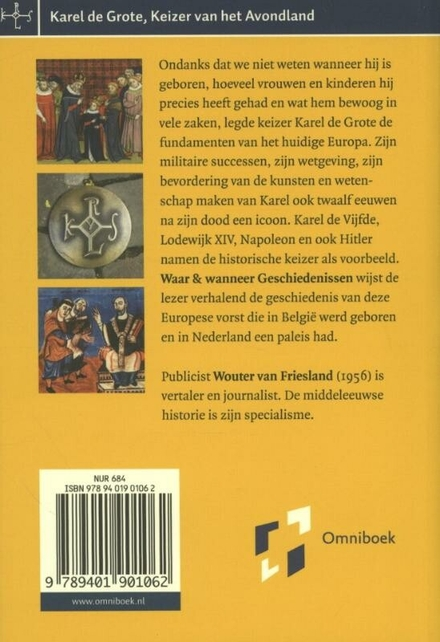Karel de Grote : keizer van het Avondland