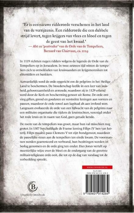 De Tempeliers : de opkomst en ondergang van de tempelridders
