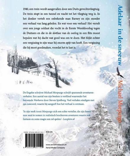 Adelaar in de sneeuw