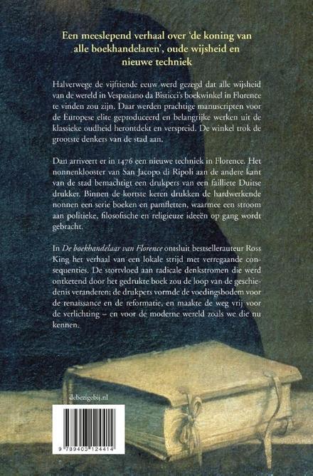 De boekhandelaar van Florence : de renaissance, de boekdrukkunst en de veranderende kracht van ideeën