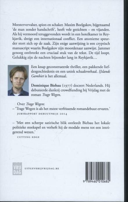 IJslands gambiet : roman