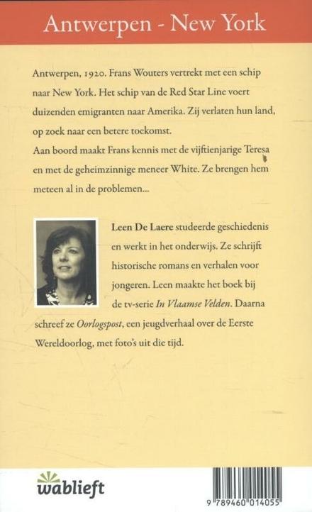 Antwerpen-New York, enkele reis