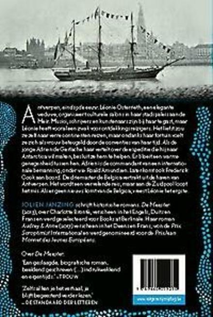 Het tij hoog, de maan blauw : Antwerpen - Antarctica : roman