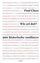 Wie zei dat? : 500 historische oneliners