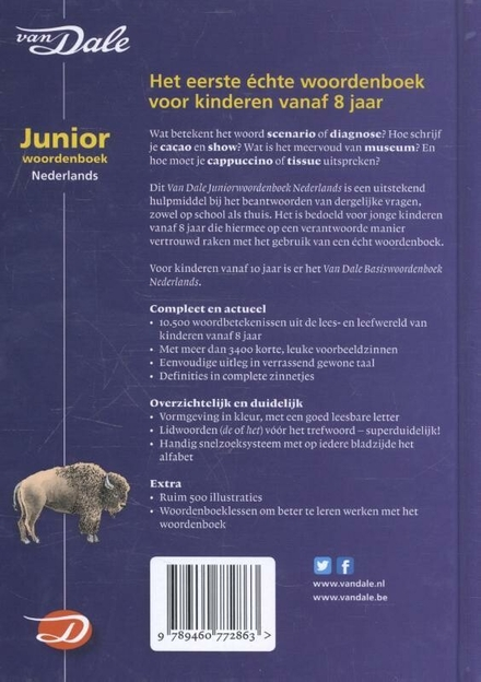 Van Dale juniorwoordenboek Nederlands