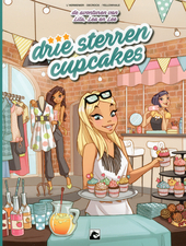 Drie sterren cupcakes