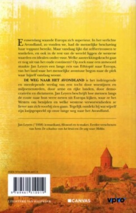 De weg naar het avondland : een reis van Ethiopië naar Europa