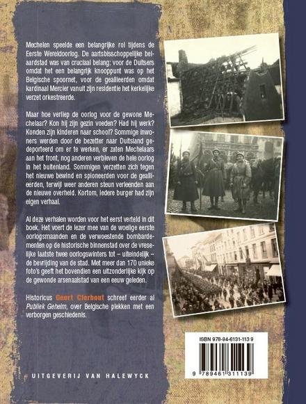 Oorlog aan de Dijle : Mechelen tijdens de Eerste Wereldoorlog