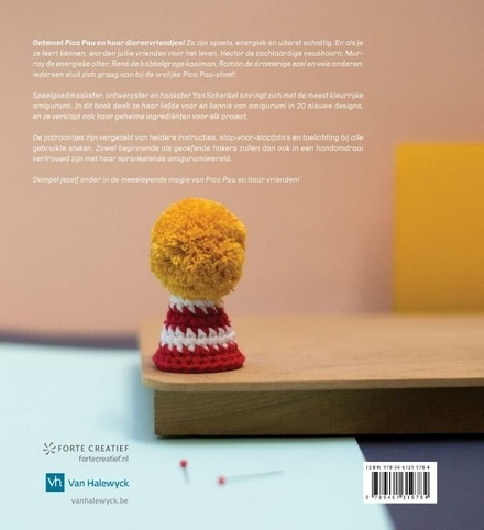 Pica Pau [1] : maak 20 kleurrijke amigurumidiertjes