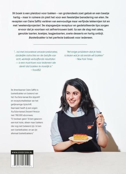 Banketbakker : beter leren bakken met de recepten van Claire Saffitz