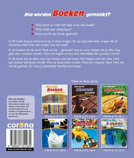 Hoe worden boeken gemaakt?