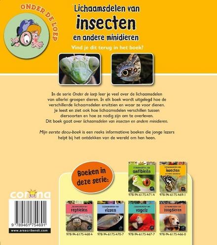 Lichaamsdelen van insecten en andere minidieren