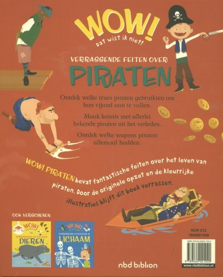 Verrassende feiten over piraten