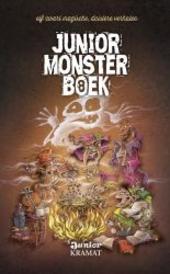 Junior monsterboek. 8, Elf magische verhalen geschreven met bloed en tranen en een flinke portie inktzwarte humor ....