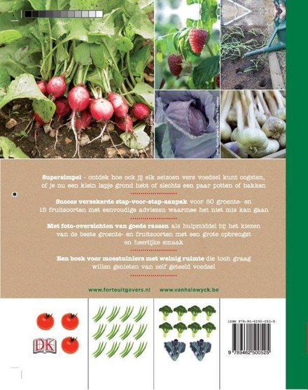 De slimme moestuin : uitgekiende ontwerpen voor kleine tuinen