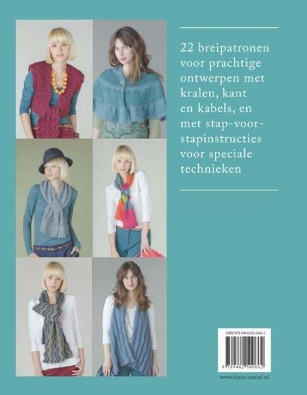 Sjaals & stola's breien : 22 originele ontwerpen met speciale breitechnieken en stylingtips om de sjaals te dragen
