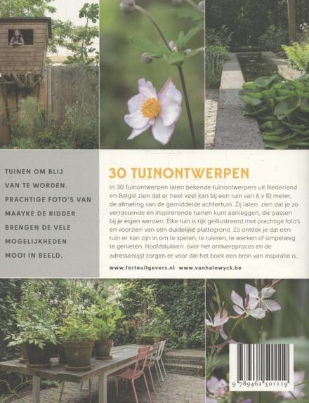 30 tuinontwerpen : ongewone ontwerpen voor een gewone tuin